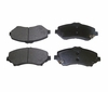 Front Disc Brake Pad Set, 2007-13 Jeep Wrangler JK, Wrangler Unlimited JK & 2008-11 Jeep Liberty KK