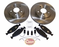 Front Disc Brake Service Kit, 1999-02 Grand Cherokee WJ, WG (EUROPE) W/ Teves Calipers