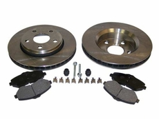 Front Disc Brake Service Kit, 2007-13 Jeep Wrangler JK