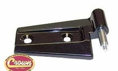 Front Door Hinge, Black, Right Side Upper or Lower, Front or Back, Full or Half Doors, 2007-11 Jeep Wrangler JK & Jeep Wrangler JK Unlimited