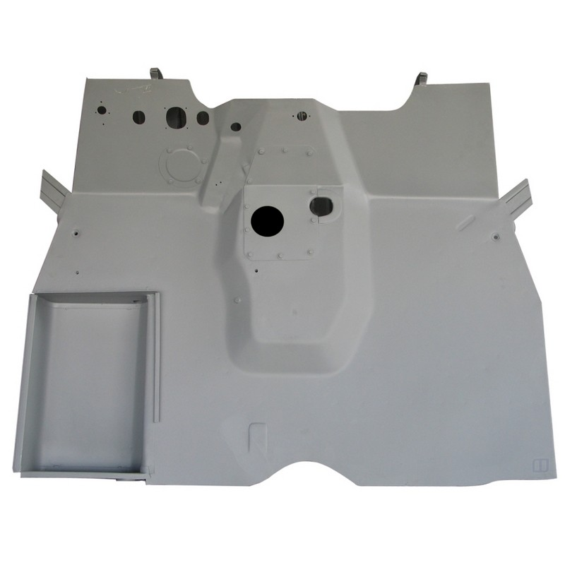 Jeep Part 671019 Mb Front Floor Pan Section 1941 45 Mb