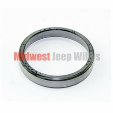 Front Inner & Outer Wheel Bearing Cup for 1965-75 Jeep CJ, Jeepster Commando C101 & Front Outer Wheel Bearing Cup for 1976-86 Jeep CJ