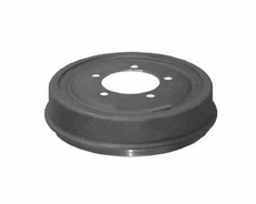 "Front or Rear Unfinned Brake Drum for 1972-74 Jeep CJ with 11"" x 2"" Brakes"