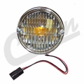 Front Parking Lamp Assembly, fits 1976-1986 Jeep CJ5, CJ7 & CJ8 Scrambler