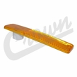 Front Side Marker Lens in Amber for 1966-86 Jeepster, Jeep CJ5, CJ7 & CJ8