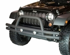 3-Inch Double Tube Front Bumper, 07-17 Jeep Wrangler by Rugged Ridge