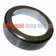 Outer Front Wheel Bearing Cup, Fits 1946-1955 2WD Willys Jeepster, Station Wagon