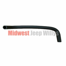 "Replacement Fuel Filler Hose, No Flared Ends, 23-1/2"" long, fits Late 1979-1987 Jeep J-10, J20 Townside Truck, for front fill tank"