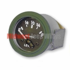 Fuel Gauge, 24 Volt for Dodge M37 Truck, 7728852