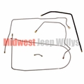 Fuel Line Set, fits 1952-1966 Jeep M38A1 Models