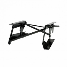 Driver Side Fold Forward Seat Riser Bracket, 76-95 Jeep CJ, Wrangler by Rugged Ridge