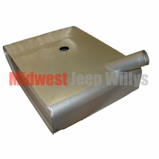 Replacement Under-Seat Gas Tank, fits 1955-1971 Jeep CJ5, CJ6 with F-134 4 Cylinder Engine Only