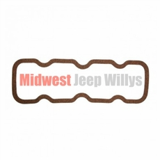Rocker Cover Gasket for Willys Jeep 4-134 CI F-Head Hurricane 4 Cylinder Engines, 1952-1971 Models