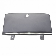 Glove Box Door, Stainless Steel, 76-86 Jeep CJ by Rugged Ridge