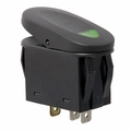 ( 1723504 ) Green 2-Position Rocker Switch by Rugged Ridge