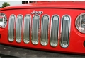 Billet Grille Insert, Polished Aluminum, 07-14 Jeep Wrangler by Rugged Ridge