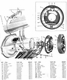 Hand Brake Assembly on willys jeep parts diagrams illustrations from midwest jpg