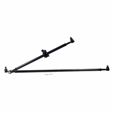 HD Tie Rod and Drag Link Kit, 84-06 Jeep XJ, ZJ, and Wrangler by Rugged Ridge