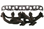 Steel Header, Black, 4.0L, 1999-2006 Jeep Models by Rugged Ridge