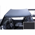 Summer Brief Header, Black Denim, 97-06 Jeep Wrangler by Rugged Ridge