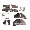 ( 1118003 ) Hinge Kit, Black Chrome, 87-95 Jeep Wrangler by Rugged Ridge