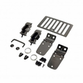 ( 1118007 ) Hood Kit, Black Chrome, 98-06 Jeep Wrangler by Rugged Ridge