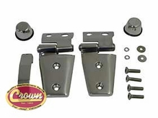 Hood Kit, Stainless Steel, 2007-11 Jeep Wrangler JK & Jeep Wrangler JK Unlimited
