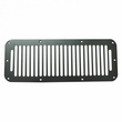 Cowl Vent Cover, Black, 76-95 Jeep CJ and Wrangler by Rugged Ridge