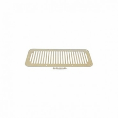 Cowl Vent Cover, Stainless Steel, 76-95 Jeep CJ and Wrangler by Rugged Ridge