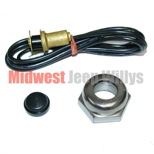 1955 willys jeep alternator wiring willys jeep horn wiring jeep part a-6742k horn button kit, fits 1941-49 jeep mb ...
