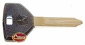Ignition & Door Key Blank, fits 1993 Jeep Wrangler YJ, 1993 Jeep Cherokee XJ