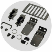 Rugged Ridge Jeep Black Chrome Accessories