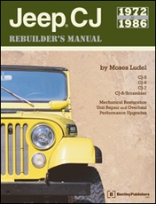 Jeep® CJ Rebuilder's Manual: 1972 to 1986