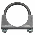 "Jeep Exhaust Clamp, 2-1/4"" Heavy Duty, Jeep CJ, Wrangler & Cherokee"