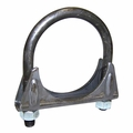 "Jeep Exhaust Clamp, 2"" Regular Duty, Jeep CJ, Wrangler & Cherokee"