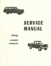 Jeep J-Series Service Manual J-100, J-200, J-300