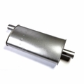 Jeep Muffler, 1972-78 6 Cyl CJ, 1972-75 V8 CJ Models without Converter