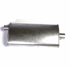 Replacement Muffler for 1993-1996 Jeep Cherokee 2.5L, 1993-1995 Cherokee 4.0L