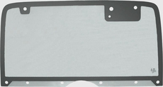 Jeep Wrangler YJ Hard Top Back Glass with 50% Gray Tint, (Heated), Fits 1987-95 Wrangler YJ