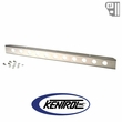 """Kentrol 54"""" Front Bumper with holes (no license plate holes) Polished Stainless Steel fits 1987-1995 Jeep Wrangler YJ"""