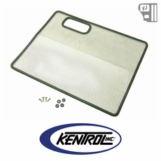 Kentrol Bug Shield Polished Stainless Steel fits 1987-1995 Jeep Wrangler YJ
