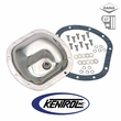Kentrol Differential Cover Model 30 Polished Stainless Steel fits 1987-1995 Jeep Wrangler YJ