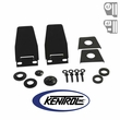 Kentrol Hardtop Liftgate Hinge (pair) Black Powder Coated Stainless fits 1987-2006 Jeep Wrangler YJ, TJ