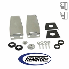 Kentrol Hardtop Liftgate Hinge (pair) Polished Stainless Steel fits 1987-2006 Jeep Wrangler YJ, TJ