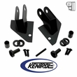Kentrol Mirror Relocation Bracket (pair) Black Powder Coated Stainless fits 1987-1995 Jeep Wrangler YJ