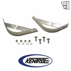 Kentrol Rear Body Guard (pair) Polished Stainless Steel fits 1987-1995 Jeep Wrangler YJ