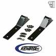 Kentrol Tailgate Hinge (pair) Black Powder Coated Stainless fits 1987-1995 Jeep Wrangler YJ