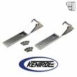 Kentrol Tailgate Hinge (pair) Polished Stainless Steel fits 1987-1995 Jeep Wrangler YJ