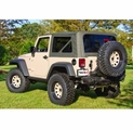 Khaki Soft Top w/ Tinted Windows, w/o Doorskins Wrangler JK 07-09 2-Door by Rugged Ridge