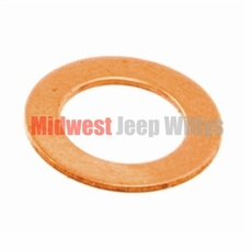 Large Washer, Between Outlet Fitting & Fitting Bolt Fits 1941-71 Jeep & Willys